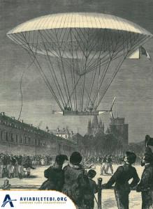 Henri Dupuy de Lome navigable baloon - dirigable