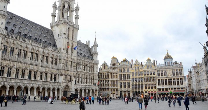 grand palace town hall brussels