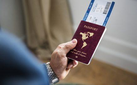 ავიაბილეთი პასპორტში